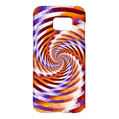 Woven Colorful Waves Samsung Galaxy S7 Edge Hardshell Case