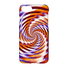 Woven Colorful Waves Apple Iphone 7 Hardshell Case by designworld65