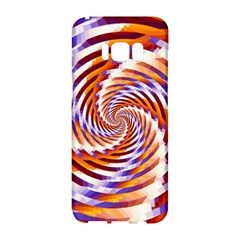 Woven Colorful Waves Samsung Galaxy S8 Hardshell Case