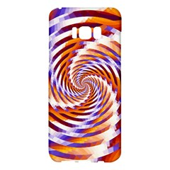 Woven Colorful Waves Samsung Galaxy S8 Plus Hardshell Case