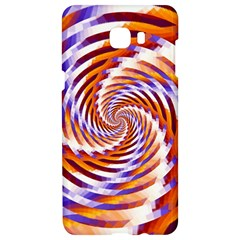 Woven Colorful Waves Samsung C9 Pro Hardshell Case