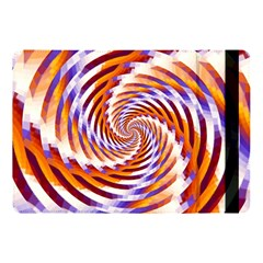 Woven Colorful Waves Apple Ipad Pro 10 5   Flip Case by designworld65
