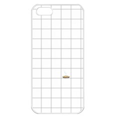 Pie Cooling On The Window Pane Pattern Apple Iphone 5 Seamless Case (white) by emilyzragz