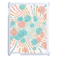 Bubbles Apple Ipad 2 Case (white) by linceazul