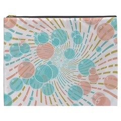 Bubbles Cosmetic Bag (xxxl)  by linceazul