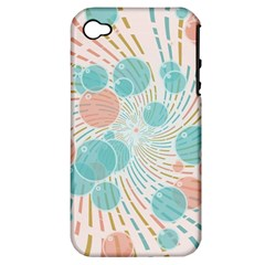 Bubbles Apple Iphone 4/4s Hardshell Case (pc+silicone) by linceazul