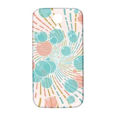 Bubbles Samsung Galaxy S4 I9500/i9505  Hardshell Back Case by linceazul