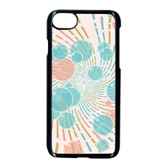 Bubbles Apple Iphone 7 Seamless Case (black) by linceazul