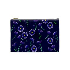 Floral Cosmetic Bag (medium)  by BubbSnugg