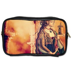 Fantasy Art Painting Magic Woman  Toiletries Bags 2 Side by paulaoliveiradesign