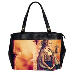 Fantasy Art Painting Magic Woman  Office Handbags (2 Sides)  by paulaoliveiradesign