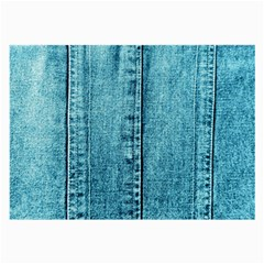 Denim Jeans Fabric Texture Large Glasses Cloth by paulaoliveiradesign