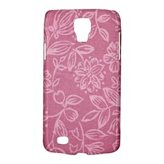 Floral Rose Flower Embroidery Pattern Galaxy S4 Active by paulaoliveiradesign