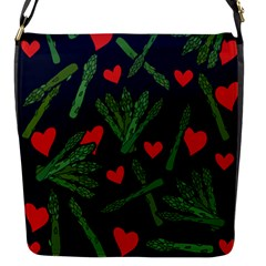 Asparagus Lover Flap Messenger Bag (s) by BubbSnugg