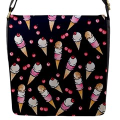 Ice Cream Lover Flap Messenger Bag (s) by BubbSnugg