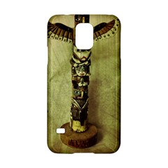 Totem Pole Samsung Galaxy S5 Hardshell Case  by sirhowardlee