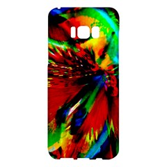 Flowers With Color Kick 1 Samsung Galaxy S8 Plus Hardshell Case  by MoreColorsinLife
