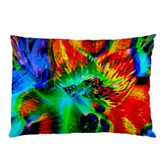 Flowers With Color Kick 2 Pillow Case by MoreColorsinLife