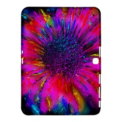 Flowers With Color Kick 3 Samsung Galaxy Tab 4 (10 1 ) Hardshell Case  by MoreColorsinLife