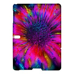 Flowers With Color Kick 3 Samsung Galaxy Tab S (10 5 ) Hardshell Case  by MoreColorsinLife