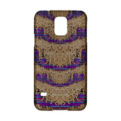 Pearl Lace And Smiles In Peacock Style Samsung Galaxy S5 Hardshell Case  by pepitasart