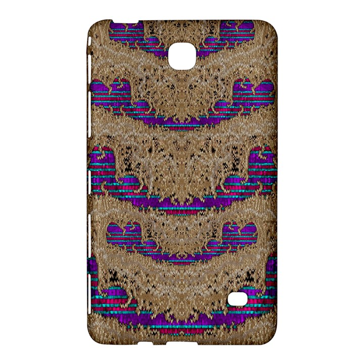 Pearl Lace And Smiles In Peacock Style Samsung Galaxy Tab 4 (7 ) Hardshell Case