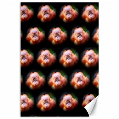 Cute Animal Drops  Baby Orang Canvas 12  X 18   by MoreColorsinLife