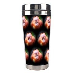 Cute Animal Drops  Baby Orang Stainless Steel Travel Tumblers by MoreColorsinLife