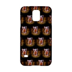 Cute Animal Drops   Piglet Samsung Galaxy S5 Hardshell Case  by MoreColorsinLife