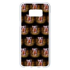 Cute Animal Drops   Piglet Samsung Galaxy S8 Plus White Seamless Case by MoreColorsinLife
