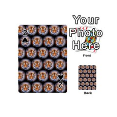 Cute Animal Drops   Tiger Playing Cards 54 (mini)  by MoreColorsinLife