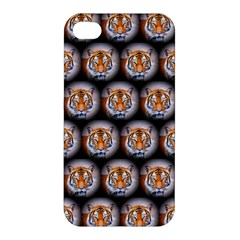 Cute Animal Drops   Tiger Apple Iphone 4/4s Hardshell Case