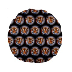 Cute Animal Drops   Tiger Standard 15  Premium Round Cushions by MoreColorsinLife