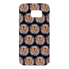 Cute Animal Drops   Tiger Samsung Galaxy S7 Edge Hardshell Case by MoreColorsinLife
