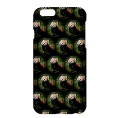 Cute Animal Drops   Red Panda Apple Iphone 6 Plus/6s Plus Hardshell Case by MoreColorsinLife