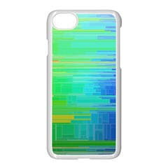 Colors Rainbow Pattern Apple Iphone 7 Seamless Case (white)