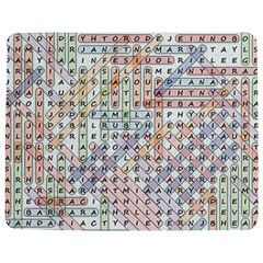 Solved Word Search With Common Female Names Jigsaw Puzzle Photo Stand (rectangular) by DownUnderSearcher