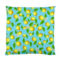 Lemon Pattern Standard Cushion Case (one Side) by Valentinaart