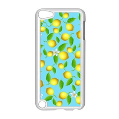 Lemon Pattern Apple Ipod Touch 5 Case (white) by Valentinaart