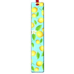 Lemon Pattern Large Book Marks by Valentinaart