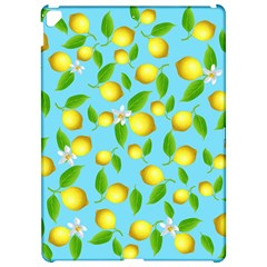 Lemon Pattern Apple Ipad Pro 12 9   Hardshell Case by Valentinaart