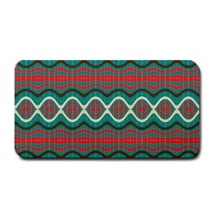 Ethnic Geometric Pattern Medium Bar Mats by linceazul