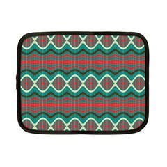 Ethnic Geometric Pattern Netbook Case (small)  by linceazul
