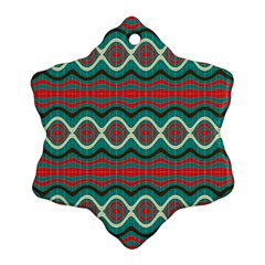 Ethnic Geometric Pattern Ornament (snowflake) by linceazul