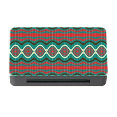 Ethnic Geometric Pattern Memory Card Reader With Cf by linceazul