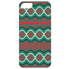 Ethnic Geometric Pattern Apple Iphone 5 Classic Hardshell Case by linceazul