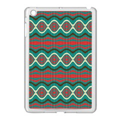 Ethnic Geometric Pattern Apple Ipad Mini Case (white) by linceazul