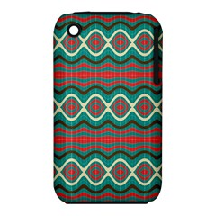 Ethnic Geometric Pattern Iphone 3s/3gs by linceazul