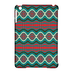 Ethnic Geometric Pattern Apple Ipad Mini Hardshell Case (compatible With Smart Cover) by linceazul