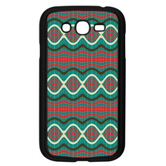 Ethnic Geometric Pattern Samsung Galaxy Grand Duos I9082 Case (black) by linceazul